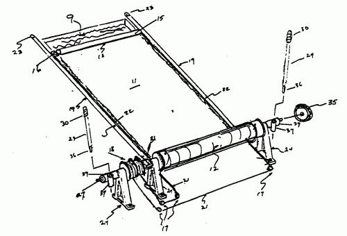 Sistema impulsor manual de cubiertas para piscinas Como hacer un cubre piscinas