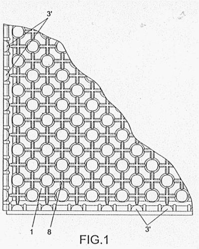Soporte aislante para la fijacion de tubos en suelos - Aislante para suelos ...