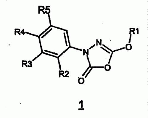 3-FENIL-5-ALCOXI-1,3 ,4-OXADIAZOL-2-ONAS SUSTITUIDS Y SU USO PARA LA INHIBICION DE LA LIPASA SENSIBLE A HORMONAS.