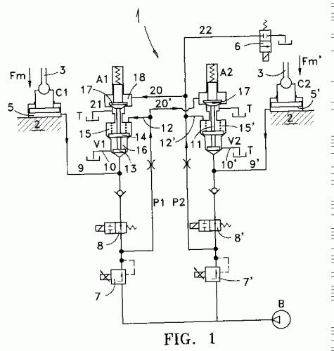 Circuito Hidraulico Simple : Dispositivos para impedir la deformación o avería de…