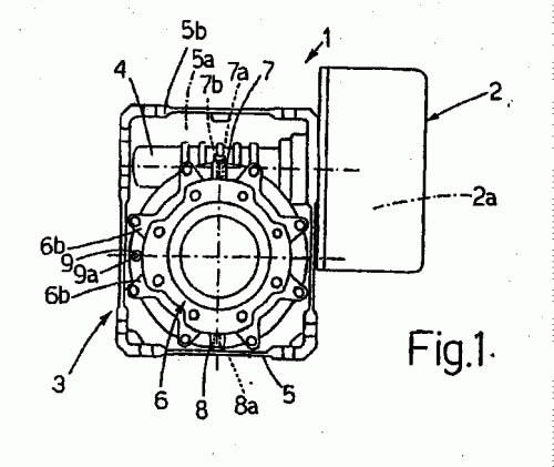 Unidad de motor de la bobinadora