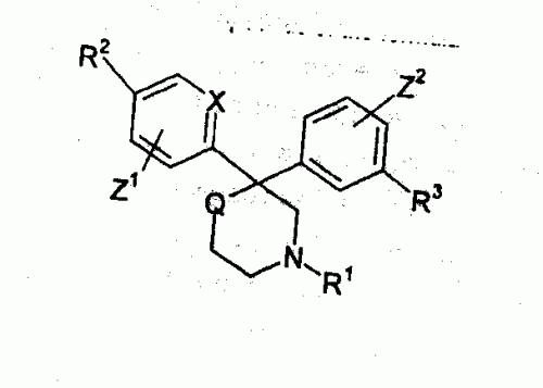 DERIVADOS DE 3,3-BIARILPIPERIDINA Y 2,2-BIARILMORFOLINA.