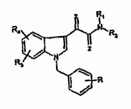 DERIVADOS DE ACIDO N-BENCIL-INDOL-3-IL-GLIOXILICO SUSTITUIDOS CON EFECTO ANTITUMORAL.