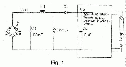 DISPOSITIVO PARA SUPRIMIR LOS ARMONICOS DE CORRIENTES PARA SUMINISTROS DE ENERGIA ELECTRONICA DE LAMPARAS FLUORESCENTES COMPACTAS.