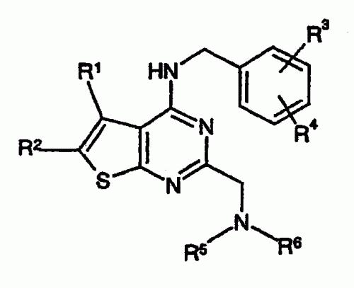 2-AMINOALQUIL-TIENO (2,3-D)PIRIMIDINAS.