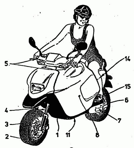 COFRE PARA VEHICULO DE DOS RUEDAS, A MOTOR.