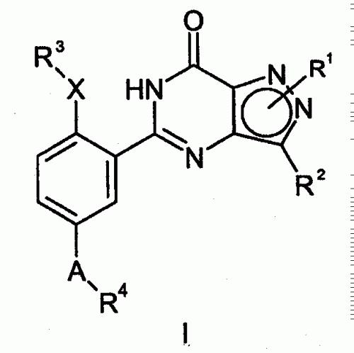 COMPUESTOS PIRAZOLO(4,3-D)PIRIMIDINONA COMO INHIBIDORES DE GMPC.