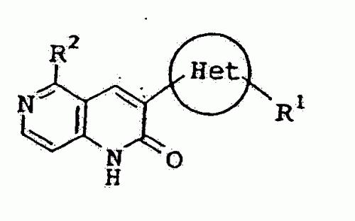 DERIVADOS DE 5-SUSTITUIDO-3-OXADIAZOLIL-1 ,6-NAFTIRIDIN-2(1H)-ONA.