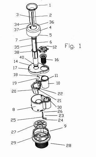 Cisternas capaces de suministrar cantidades de agua variable for Accionamiento neumatico