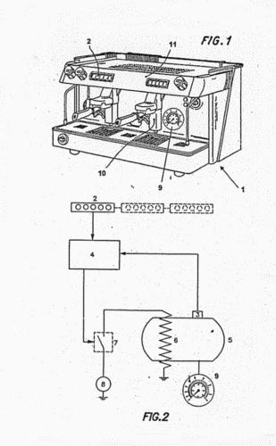 MAQUINA PARA PREPARACION DE CAFE CON CONTROL ELECTRONICO DE TEMPERATURA.