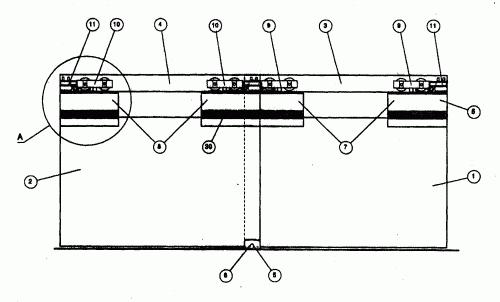Mecanismo para el montaje de puertas correrizas de cristal - Mecanismos de puertas correderas ...