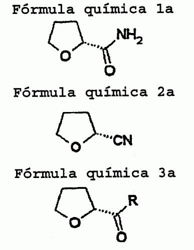 METODO PARA PREPARAR (R)- O (S) -TETRAHIDROFURANIL CETONAS OPTICAMENTE PURAS.