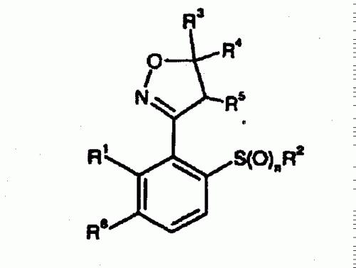 PROCEDIMDIENTO PARA LA OBTENCION DE 2-ALQUIL-3-(4,5- DIHIDROISOXAZOL -3- IL)- HALOGENBENCENOS.