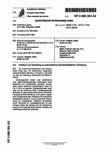 PROCEDIMIENTO PARA LA AUTOMATIZACION DE LA EXPLOTACION AGROPECUARIA DE GANADO LECHERO.