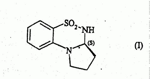 PROCEDIMIENTO PARA LA SINTESIS DE (3AS)-5,5-DIOXO-2,3,3A ,4-TETRAHIDRO-1H-PIRROLO(2 ,1-C)(1,2,4)BENZOTIADIAZINA.