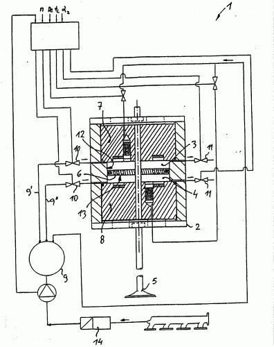 SISTEMA DE CONTROL DE VALVULA PARA MOTORES DE COMBUSTION INTERNA CON UN ACTUADOR ELECTROMAGNETICO EQUIPADO CON MUELLES DE GAS.