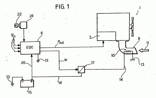 Sistema electrico motor diesel