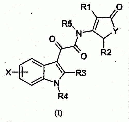 2-(1H-INDOL-3-YL)-2-OXO-ACETAMIDAS CON ACTIVIDAD ANTITUMORAL.