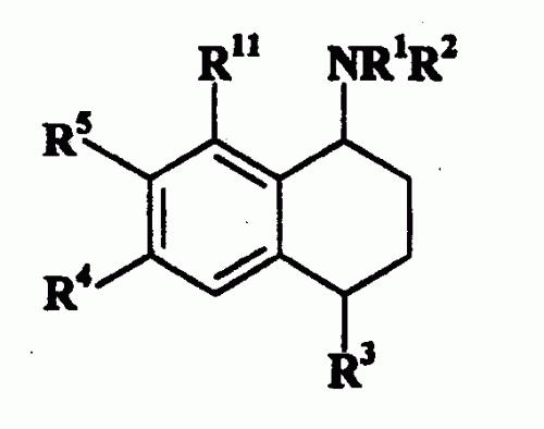 COMPUESTOS 1,2,3,4-TETRAHIDRO-1-NAFTALENAMINA UTILES EN TERAPIA.