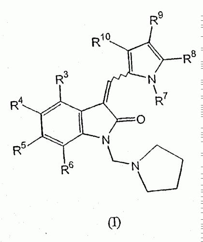 DERIVADOS DE 1-(PIRROLIDIN-1-ILMETIL)-3-(PIRROL-2-ILMETILIDENO)-2-INDOLINA.