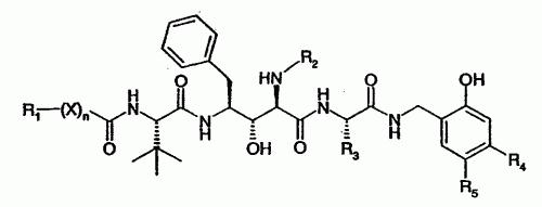 DERIVADOS DE AMIDA DE ACIDO 2-AMINO-3-HIDROXI-4-TERC-LEUCILAMINO-5-FENILPENTANOICO.