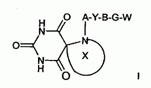 INHIBIDORES DE METALOPROTEINASA DE TRIARIL-OXI-ARIL-ESPIRO-PIRIMIDINA-2 ,4,6-TRIONA.