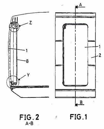 Faiveley espa ola s a 28 patentes modelos y o dise os - Mecanismo puerta corredera ...