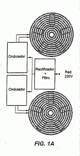 MODULO DE COCCION ELECTRICO POR INDUCCION Y PROCEDIMIENTO DE MANDO DEL MODULO.