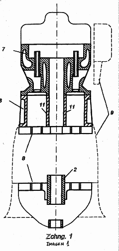 MOTOR AXIAL DE PISTON DE COMBUSTION INTERNA.
