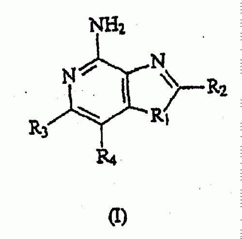 OXAZOLO-, TIAZOLO- Y SELENAZOLO-(4,5-C)-NAFTIRIDIN-4-AMINAS Y SUS ANALOGOS.
