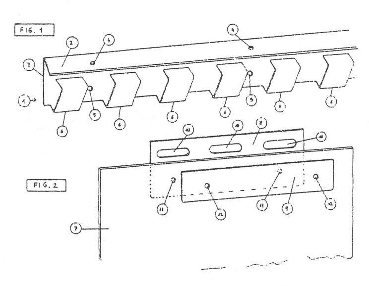 Sistema de soporte para cortinas de lamas - Sistemas para cortinas ...