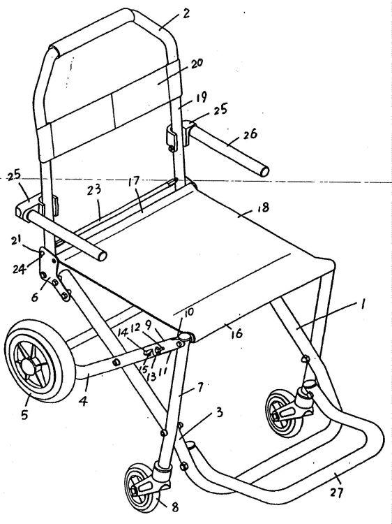 Silla de ruedas plegable y portatil - Silla de ruedas de transferencia plegable y portatil ...