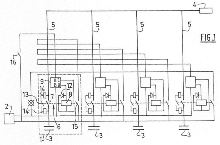 circuito basico de un contactor  contactor trif u00e1sico a v