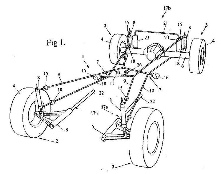 control pasivo de marcha para un sistema de suspension de