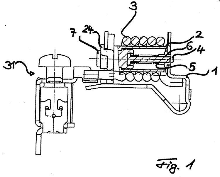 Sistema magnetico para interruptor automatico for Sistema anticalcare magnetico