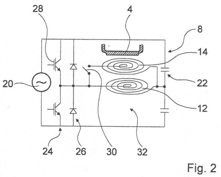 Que implican varias bobinas o segmentos de bobinas for Cocinar induccion