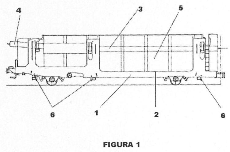 Dispositivo de regulacion de pisos en altura de un vagon - Altura de un piso ...