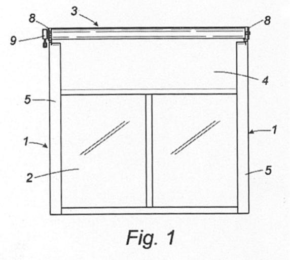 Guia soporte para toldos verticales for Guias para toldos verticales