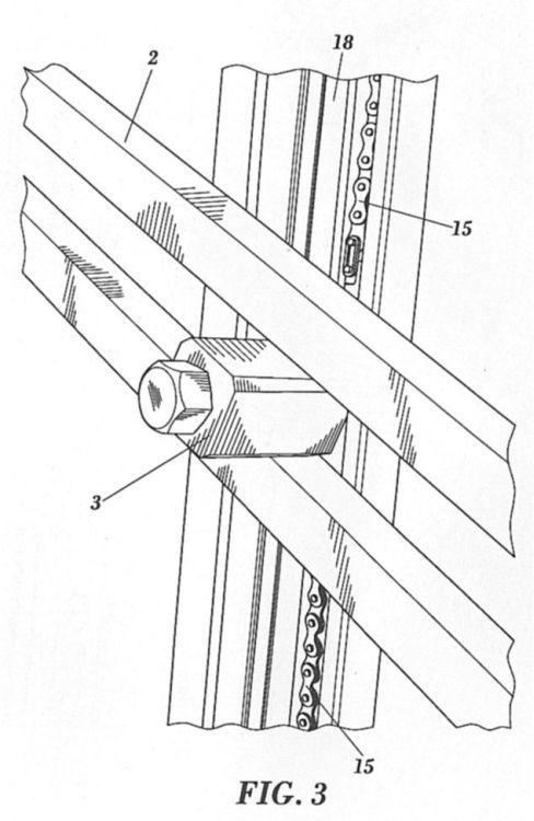 Mecanismo de accionamiento de una puerta contrapesada para - Mecanismo puerta garaje ...