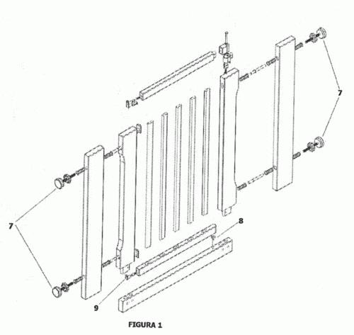 Barrera de seguridad para puertas o escaleras - Barrera seguridad escaleras ...