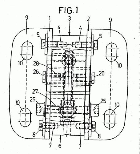 Schmitz werke gmbh co 10 patentes modelos y o dise os for Brazo articulado toldo
