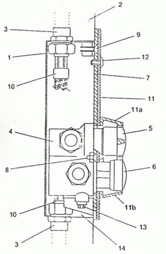 Dispositivo de alta seguridad de grifos mezcladores for Grifos mezcladores para ducha
