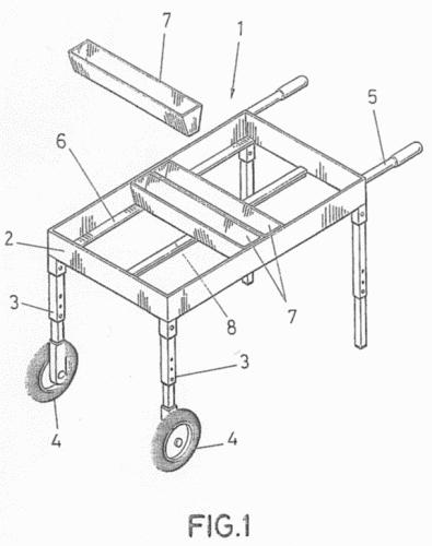 Dispositivo para aportacion de mortero en la construccion for Mortero para ladrillos