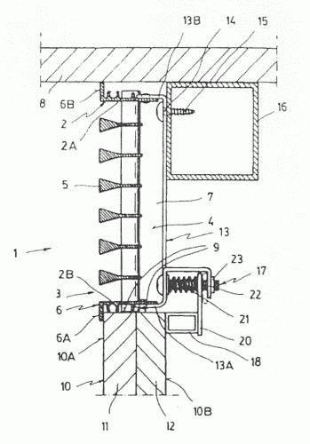 Rejilla lineal para salida de aire acondicionado for Salida aire acondicionado