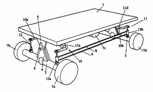 sistema de suspension pasiva para vehiculos que incluye un