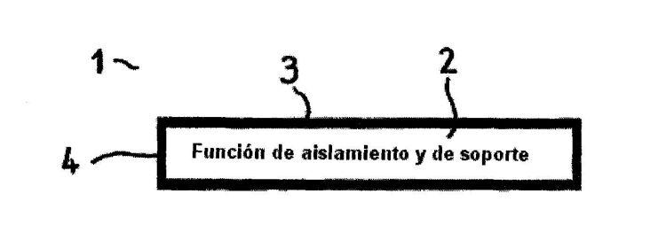 ELEMENTO DE AGLOMERADO DE MADERA CON FORMA DE PLACA.