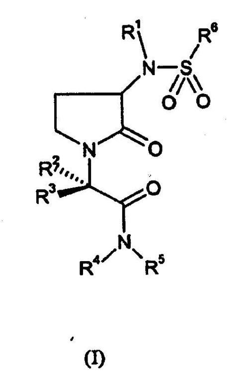 2-(3-SULFONILAMINO-2-OXOPIRROLIDIN-1-IL)PROPANAMIDAS COMO INHIBIDORES DEL FACTOR XA.