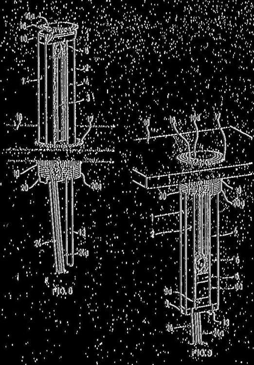 BLOQUE TELESCOPICO DE CONEXIONES, CON ACCIONAMIENTO POR CILINDRO DE GAS.