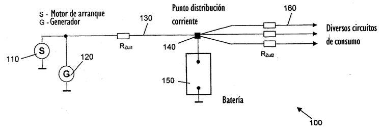 CIRCUITO ELECTRICO PARA VEHICULOS CON ACUMULACION DE CORRIENTE DEL GENERADOR INDEPENDIENTE DE LA BATERIA.