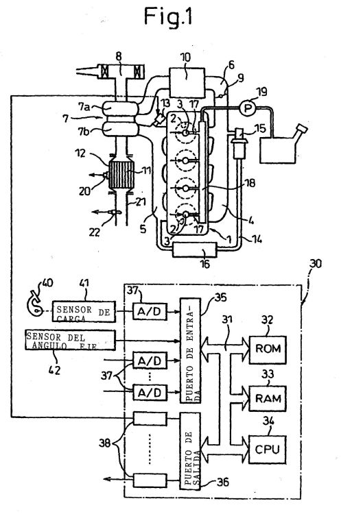 DISPOSITIVO PARA LA CLARIFICACION DE GAS DEL ESCAPE PARA MOTOR DE COMBUSTION INTERNA.